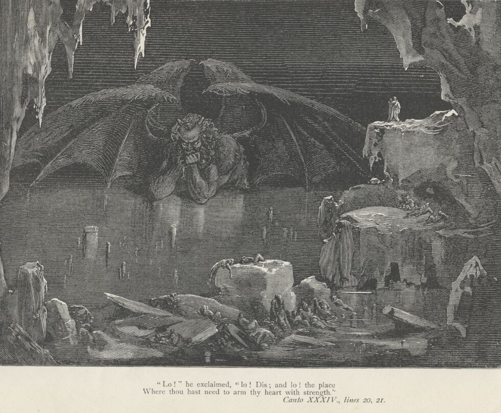 By Gustave Doré - http://gutenberg.elib.com/gutenberg/etext05/comed10h.zip and, alternatively, file 34-323.jpg from http://www.gutenberg.org/etext/8788, Public Domain, https://commons.wikimedia.org/w/index.php?curid=5033617
